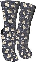 Crazy Socks Grumpy Looking Cat 3D DIY Outdoors Pleasure Boys And Girls Socks
