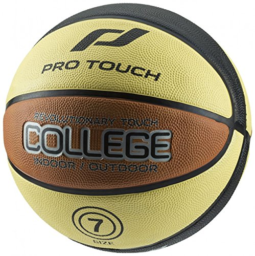 Pro Touch Basketball College Ball, schwarz, 6