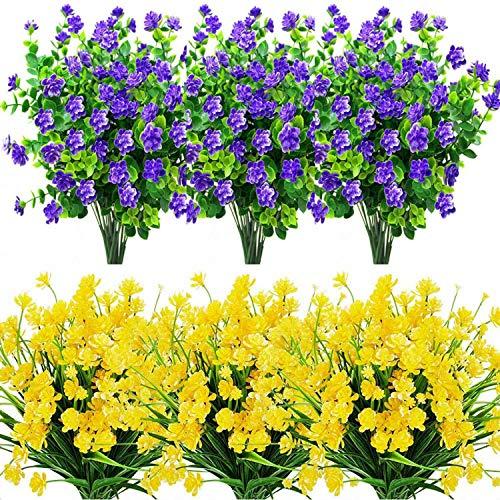 HEYB 16 künstliche Blumen für den...