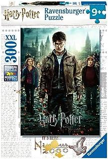 Ravensburger- Puzzle 300 pièces XXL Harry Potter et Les Reliques de la Mort II Enfant, 4005556128716