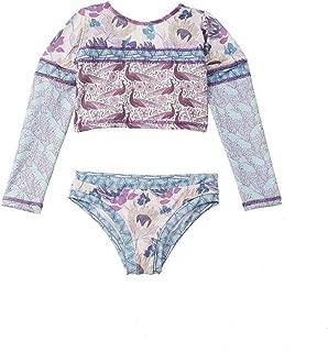 Azul Big Girls White Lace Detail Renaissance Cotton Kaftan Tops 8-14