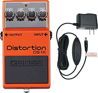 """BOSS DS-1X""""Special Edition"""" Distortion Effects Pedal (With PSA-120S2 Power Supply)"""