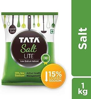 Tata Salt Lite - Low Sodium, 1kg Pouch