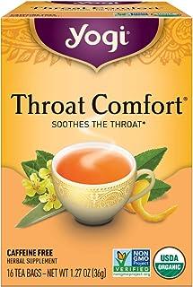 Yogi Tea Organic Throat Comfort Tea, 16 ct