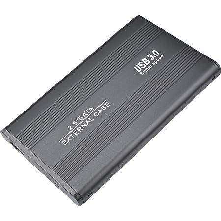 2 TB, oro disco rigido esterno portatile per PC laptop e Mac Disco rigido esterno da 2 TB