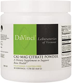 Cal-Mag Citrate Powder 5.78 Ounce (164 grams) Powder