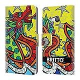Head Case Designs Officiel Britto Chance Illustrations Abstractes 2 Coque en Cuir à...