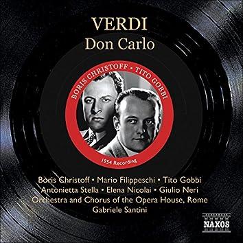 Verdi: Don Carlo (Christoff, Filippeschi, Gobbi) (1954)