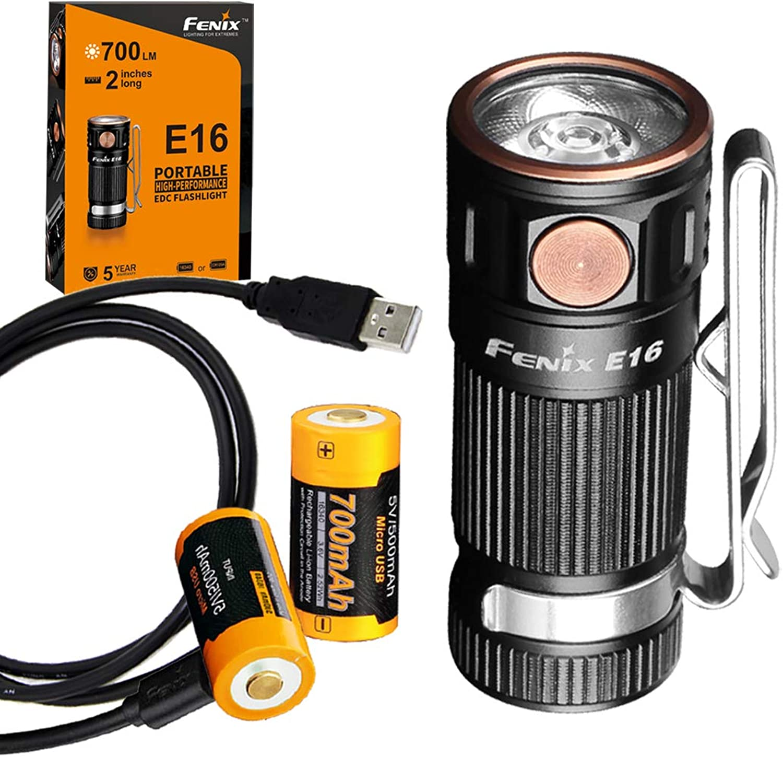 a55396d044f7 Fenix Fenix Fenix E16 700 Lumen High Performance Keychain Flashlight ...