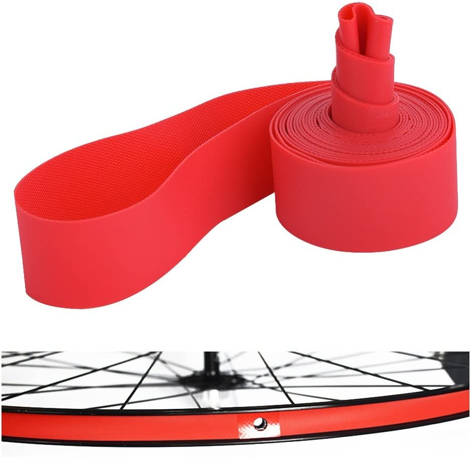 New Red Rim Liner Bicycle Tire Liner  Pad Bike Inner Tube Anti Puncture Tape