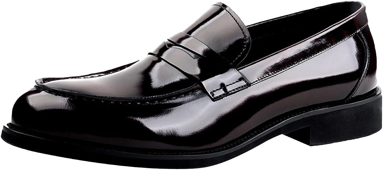 Skor från Insun Mans Patent läder Slip on on on Loafer  snabb frakt till dig