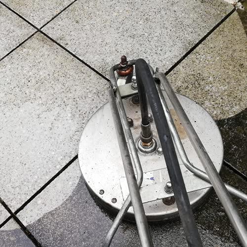 Contralmo CFR300 Profi Edelstahl Flächenreiniger | Pressure Washer | 150 Bar | mobiler Reinigung | Terassenreiniger | Steinreiniger | Betonreiniger | Universal-Reiniger | DIE Putzmaschine - 5