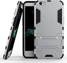 Oppo F1s Hybrid Case, Oppo F1s Shockproof Case, Dual Layer Protection Hybrid Rugged Case Hard Shell Cover with Kickstand f...