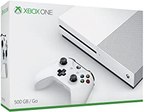 Microsoft Xbox One S 500GB Wifi Color blanco - videoconsolas (Xbox One S, 8192 MB, DDR3, AMD Jaguar, AMD Radeon, Unidad de disco duro)