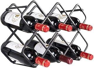 ZLJ 8 Bouteilles casier à vin Salon Cuisine Support de Rangement Support de Bouteille de vin Support