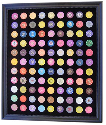 Tiny Treasures, LLC. - Poker Chips in Schwarz, Größe 23w x 27h