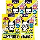 【Amazon.co.jp限定】 ライオン (LION) ニオイをとる砂 猫砂 5.5Lx4袋 (ケース販売)