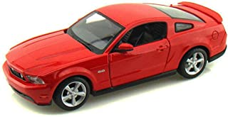Maisto Ford Mustang GT, Red 34209 - 1/24 Scale Diecast Model Toy Car, but NO Box