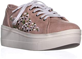 SEVEN DIALS Womens Amy Fabric Low Top Lace Up Fashion Sneakers US