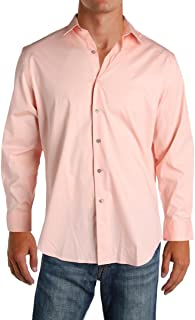 Spectrum Mens Slim-Fit Stretch Shirt