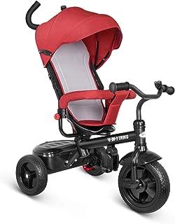 besrey Kids Tricycle 4 in 1 Baby Trike with Steering Handle