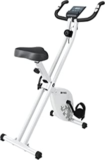 AKNIO エアロマグネティックバイク フィットネスバイク 連続使用可能時間60分 静音 マグネット負荷 折りたたみ式 8段階負荷調節 日本語説明書 一年保証