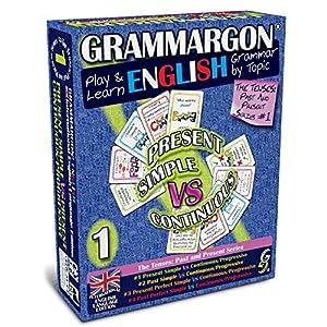 !! Mehr als ein einfaches 'Lernspiel'! GRAMMARGON ist keine bloße Ergänzung, sondern eine primäre Quelle für das Erlernen der Grammatik und ersetzt die traditionellen Grammatikbücher und Übungen. Dies ist der erste Teil einer Reihe von Grammatiktheme...