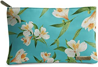 DailyObjects Blue Blooms Regular Stash Pouch