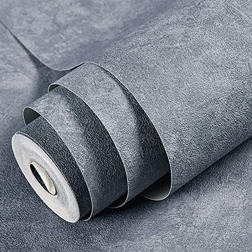 ZTKBG Nordic Industrial Wind Cement Grey behangstof zelfklevend contact afneembare open haard keukenachterwand muursticker deursticker werkblad liner