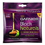Garnier Black Naturals Shade 3.16 Burgundy, 20g+20ml [Pack of 8]