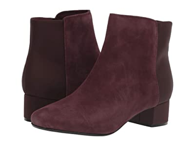 Clarks Chartli Valley (Burgundy Suede) Women