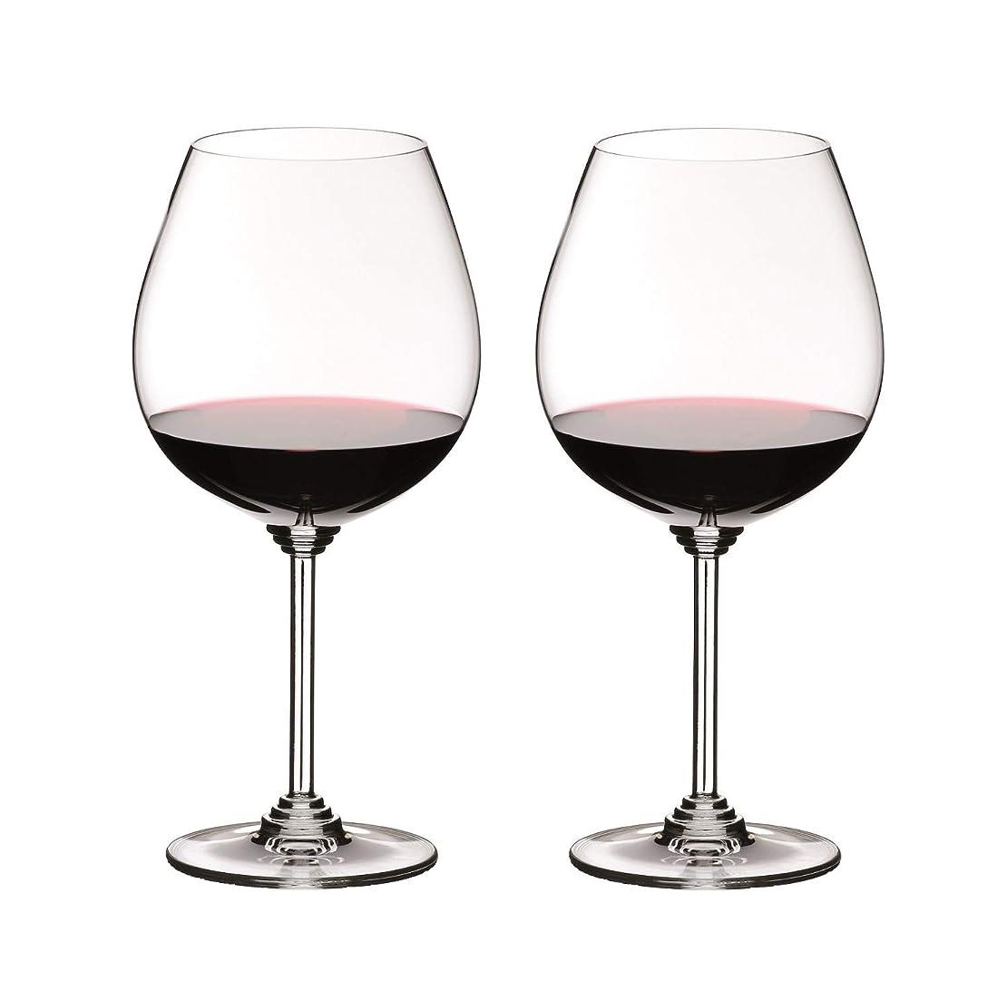 レオナルドダ靴下これまで[正規品] RIEDEL リーデル 赤ワイン グラス ペアセット ワイン ピノ?ノワール/ネッビオーロ 700ml 6448/07