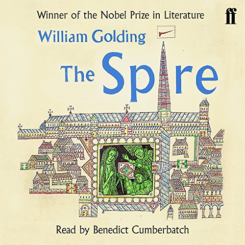 The Spire audiobook cover art