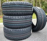 Set of 4 (FOUR) Premiorri Solazo S Plus Performance Radial Tires-235/55R18 100V