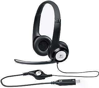 Logitech H390 USB Headset, Black [981-000406]