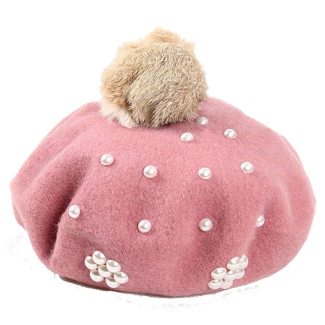 イル森林差し引く野球帽 ヴィンテージクラシックソリッドカラーのウールベレー帽子ユニセックスビーニーキャップ - 56?60センチメートル - ブルー/ピンク/ダークグレー/ライトグレー (Color : Light gray)