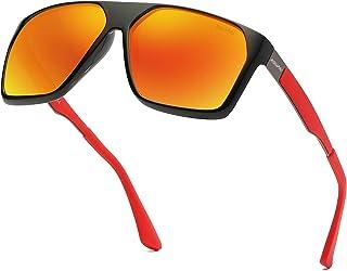 Polarized Unisex Sunglasses Square Vintage Sun Glasses For Men/Women TR90 Unbreakable Frame 6020R