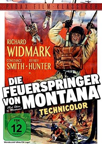 Die Feuerspringer von Montana (Red Skies of Montana) / Legendärer Abenteuerfilm mit Richard Widmark (Pidax Film-Klassiker)