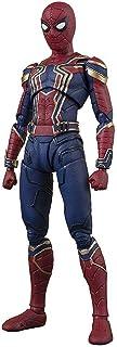 مجسم شخصية البطل سبايدر مان في فيلم افينجرز انفينيتي وور من مجموعة تاماشي اس. اتش. فيغوارتس من شركة بانداي