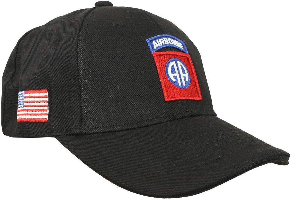 Epic Black US 82nd Airborne Baseball Cap