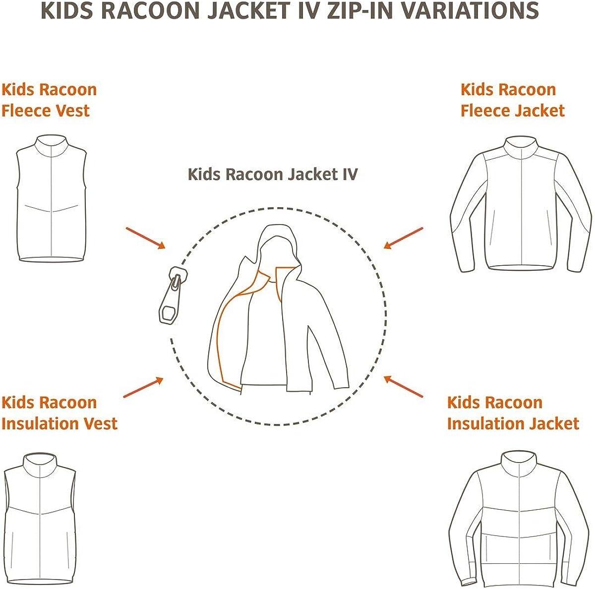 oto/ño//Invierno Infantil VAUDE Ni/ños Mapache Insulation Vest Chaleco Color