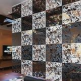 12 piezas mariposa pájaro flores colgar pantallas DIY...