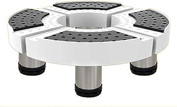LYQQQQ Socket voor huishoudelijke apparaten, rond, intrekbaar, basis voor wasmachine, kleine bediening, houder voor aanhan...