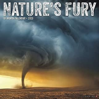 Nature's Fury 2020 Wall Calendar