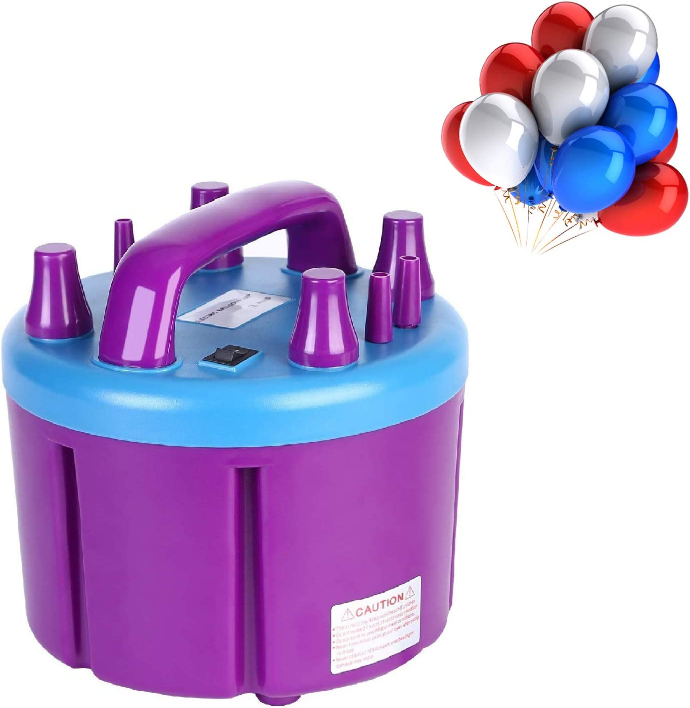 Max 58% OFF Maddott Max 66% OFF Electric Balloon Blower Pump 100 Automatic 110V Inflator