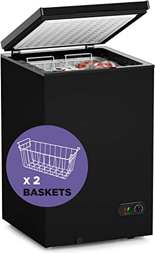 Northair-Chest-Freezer-3.5-Cu-Ft-with-2-Removable-Baskets