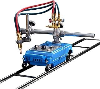 TECHTONGDA Automatic Cutting Torch Track Burner Portable Handle Gas Cutting Machine 110V