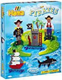 Hama - 3229 - Loisirs Créatifs - Boîte Perles à Repasser - Taille Midi - Les Pirates