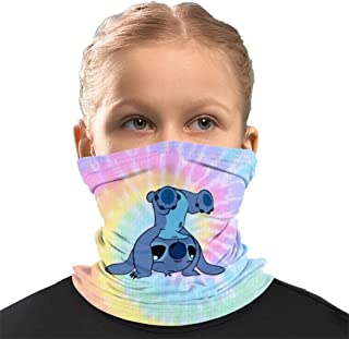 A-ven-gers Seamless Face Cover Mouth Mask Scarf Reusable Bandanas Neck Gaiter for Kids for Dust Sun UV Quick Dry