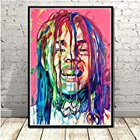 DFGAD Diamond Painting 5D Diy Cross Stitch Kits Adults Rapper Hip Hop Music Singer Art Pictures Thanksgiving Gifts